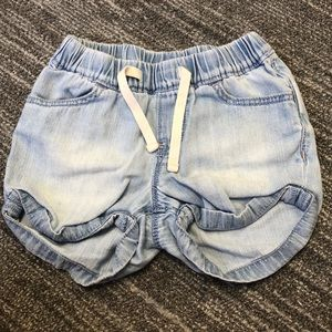 Girls GAP shorts 4T super soft denim